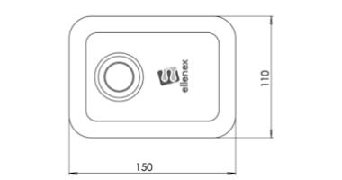 DUS2-L Indsutral ultrasonic level sensor 04