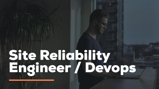 Site Reliability Engineer Ad