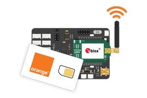 Orange IoT connectivity