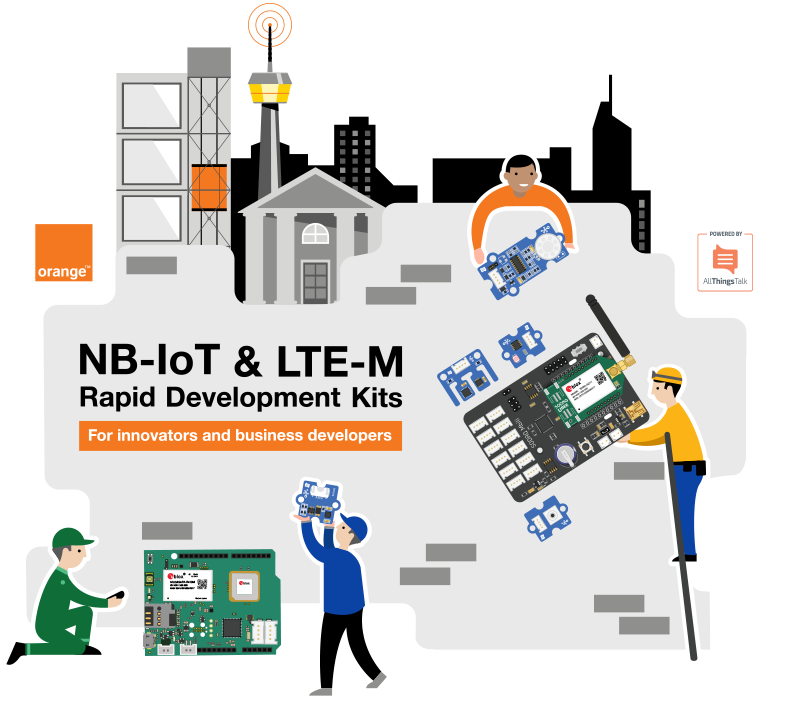 Orange-NB-IoT-and-LTEM-Rapid-Development-Kits