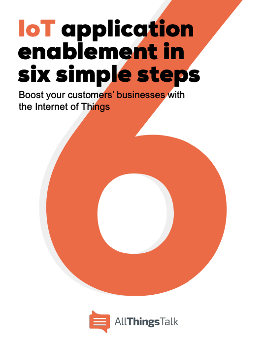 IoT application enablement ebook