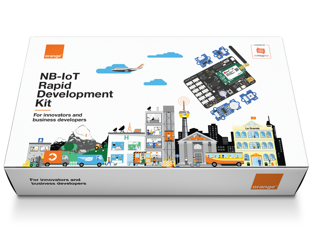 Orange-NB-IoT-RDK-Kit